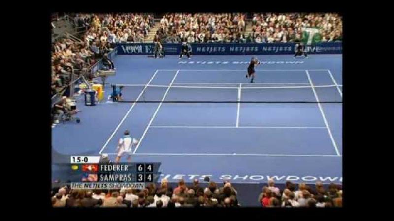 Federer vs Sampras MSG 2008