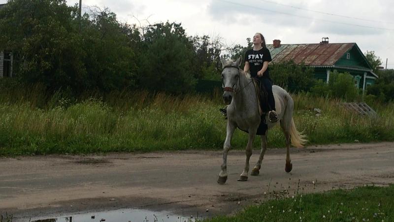 Вот оно счастье-катание на лошадях 😊😊😍😗😘