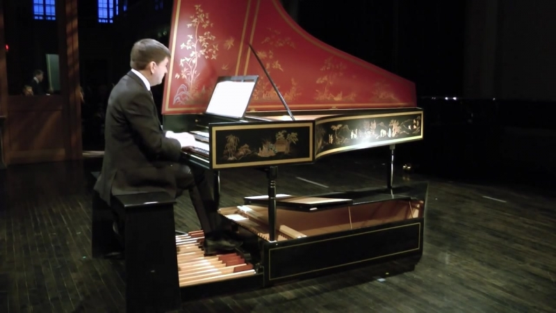 565 J. S. Bach - Toccata and Fugue in D minor, BWV 565 - Luc Beauséjour, pedal harpsichord