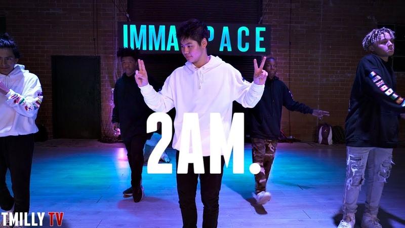 Adrian Marcel - 2AM. ft Sage the Gemini - Choreography by Willdabeast Adams TMillyTV