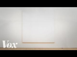 Почему белые квадраты висят в галереях, а мои картины нет ЖЮ-перевод