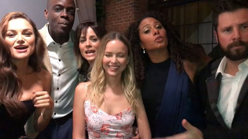 """A Million Little Things on Instagram """"And now, a message from our brilliant cast! ABCUpfront"""""""