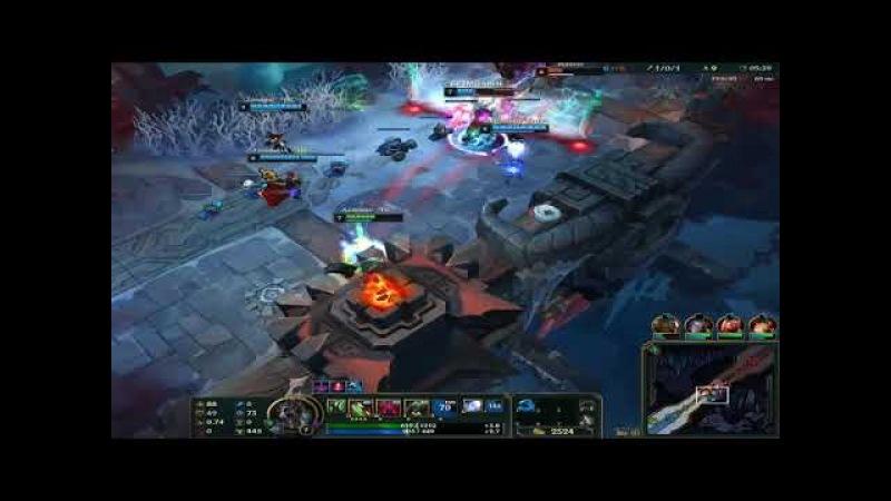 League of Legends - игра на Варвике (ARM)