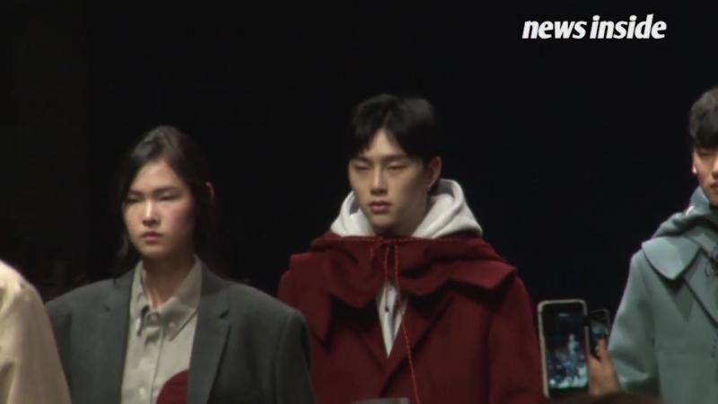 [SSTV] 권현빈·한현민, 카리스마 눈빛남다른 워킹 '런웨이 올킬' (헤라서울패션위크)