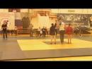 Соревнования по Самбо. 1 место. категория 44 кг. 1 схватка