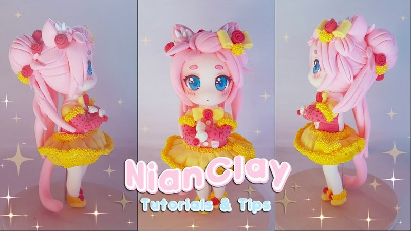 How to make chibi figure | DIY | own OC || Clay Tutorial