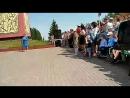 9 мая. Мозырь. Митинг на Кургане Славы