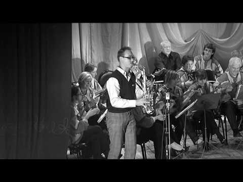 Funny sax Веселый саксофонист Михаил Морозов Syntheticsax