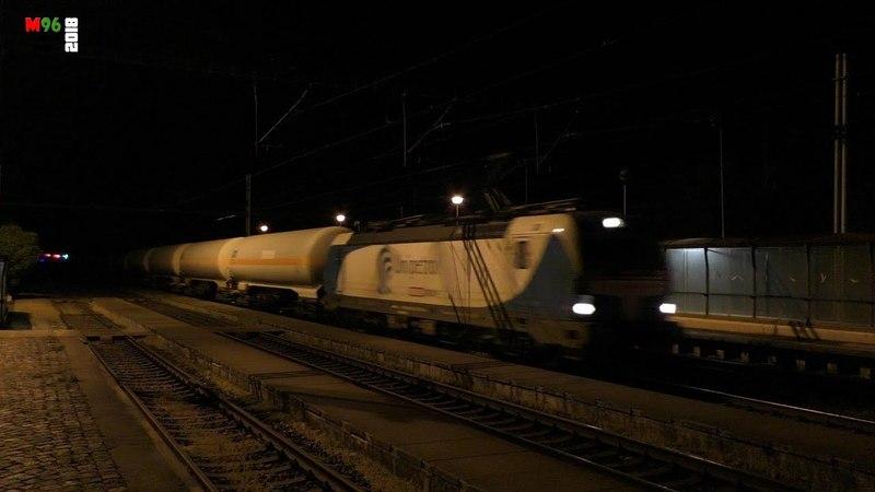 Noční nákladní vlaky - Kostěnice - 3.5.2018