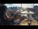 Arch Enemy Daniel Erlandsson Drumcam 'As The Pages Burn ' / Tuska Festival 2018
