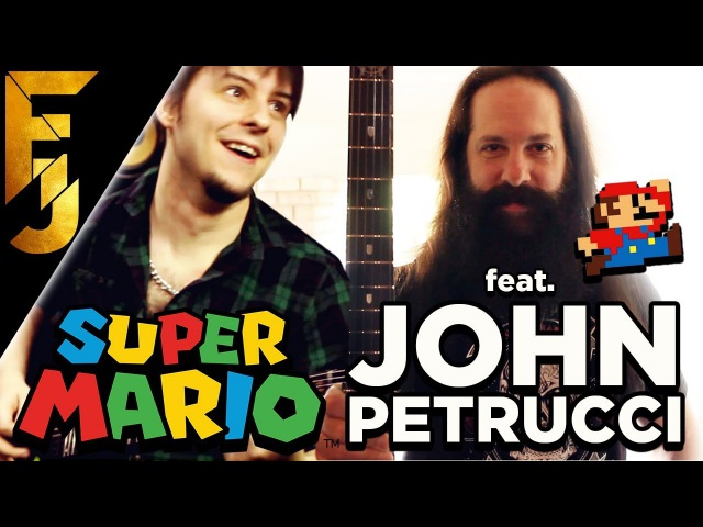 Super Mario Bros. Theme feat. John Petrucci | FamilyJules
