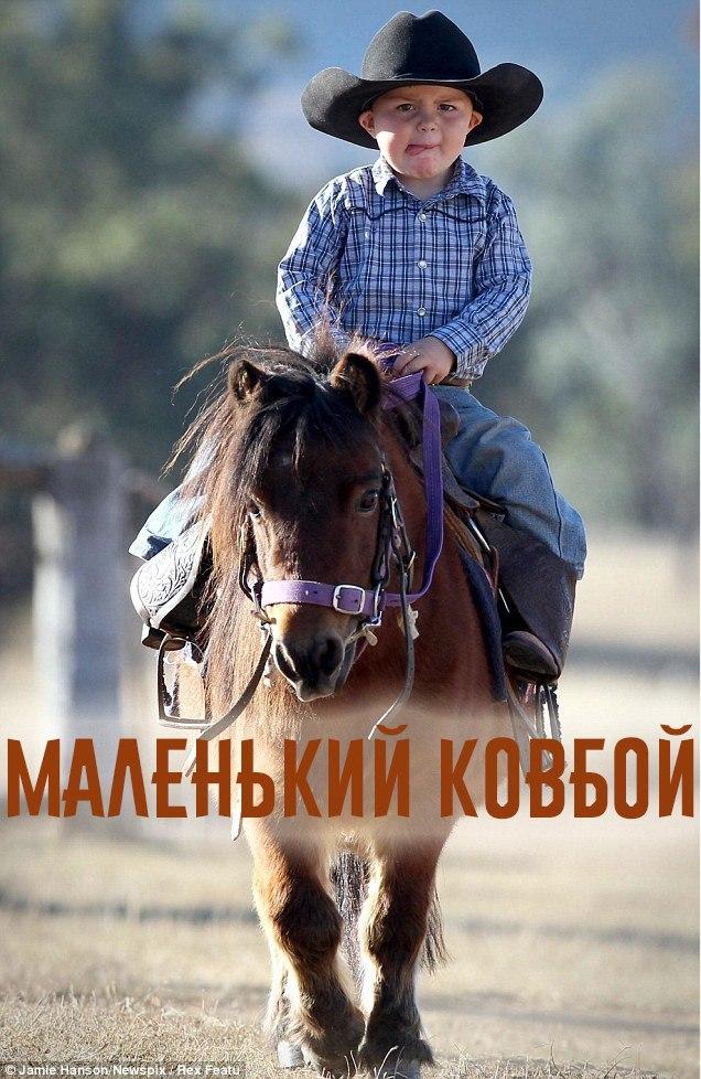 """Афиша Самара """"Маленький ковбой!"""" - фотопроект"""
