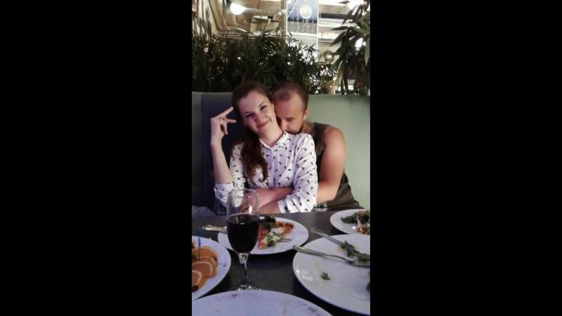 Настя с Данилом зажигают... День рождения Насти. (13 мая 2018 г.- Севастополь)