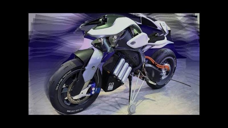 Yamaha Motoroid мотоцикла [с ИИ]
