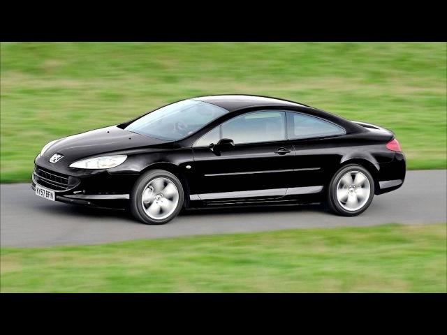 Peugeot 407 Coupe 2 0 HDi Bellagio UK spec '01–10 2008