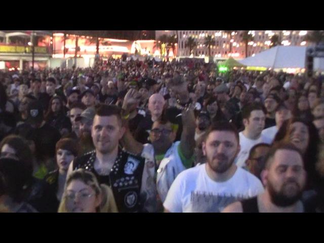 CHOKING VICTIM PUNK ROCK BOWLING 2017 PRB 5 28 17 LAS VEGAS NV VULTURE VIDEO
