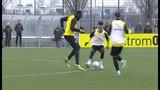 Usain Bolt - Two Goals and Nutmeg on Borussia Dortmund Training