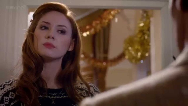Doctor Who Season 7 Christmass Special Amy x Doctor Reunion