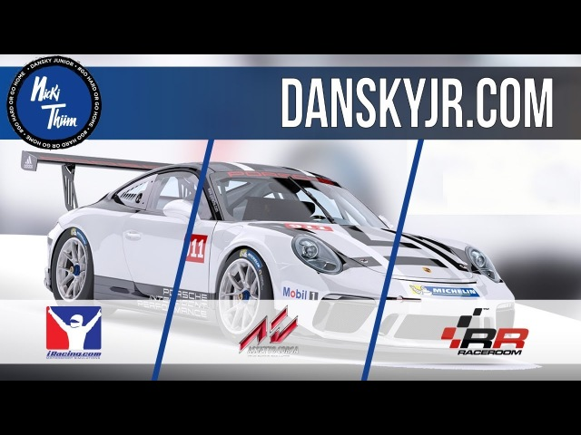 Nicki Thiim   Simulator Comparison   Porsche 911 Cup   iRacing   Assetto Corsa   Raceroom