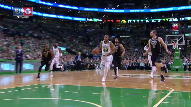 NBA Steal Of The Night Al Horford April,17 2018