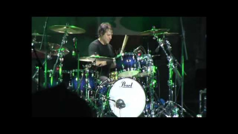 Jimmy DeGrasso drum solo LIVE Maifest, Vienna, Austria 2009-05-01