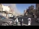 Yemen Humo y escenas de pánico en Saná tras los ataques aéreos de la coalición liderada por Arabia Saudí