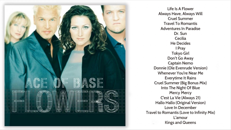 Ace of Base - Flowers (Ultimate Edition) [MIR100769]