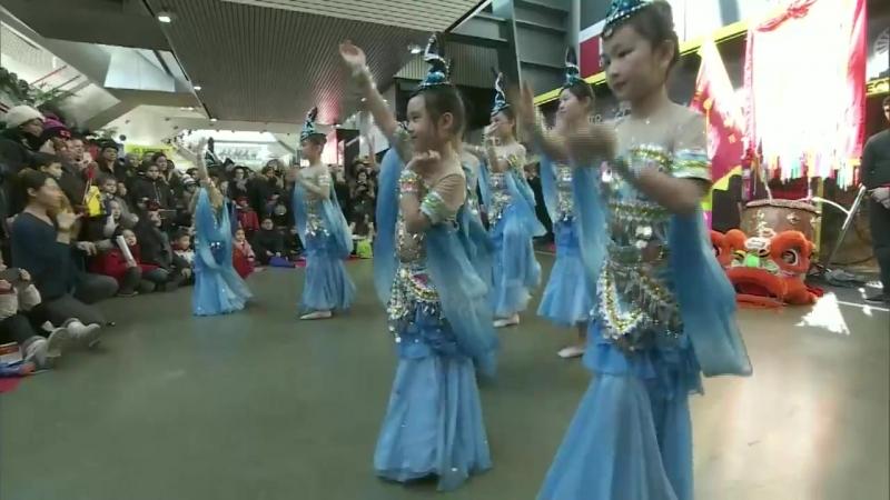 Китайский Новый год на ипподроме Paris-Vincennes