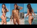 VANESSA GARCIA Gym Training Tone Glutes Strengthen Legs @ Brazil