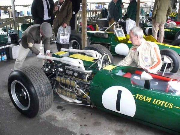 Lotus 43 BRM 16 cylinder engine start