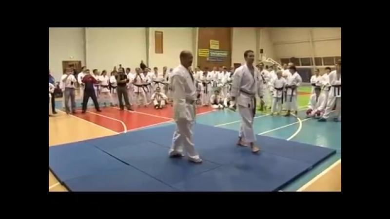 Karate Seiji Nishimura. Seminar in Moscow 2008 (6/6)