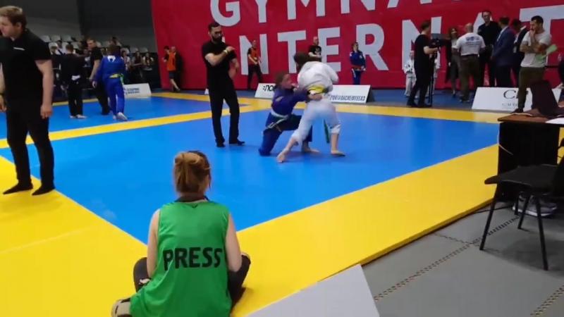 GYMNASIUM CUP X INTERNATIONAL_Винокурова Александра VS Анна Никифорова