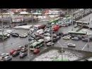 Коллапс Перекрёсток Притыцкого с пр т Пушкина Упёртые водители