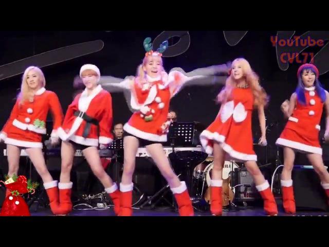 Валенки Валенки Классно поют и ритмично танцуют Кореянки из k pop группы Tren D