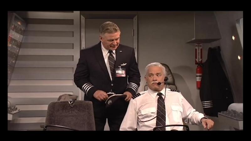 В кабине пилота Том Хэнкс и Алек Болдуин перевёл и озвучил Раххубан