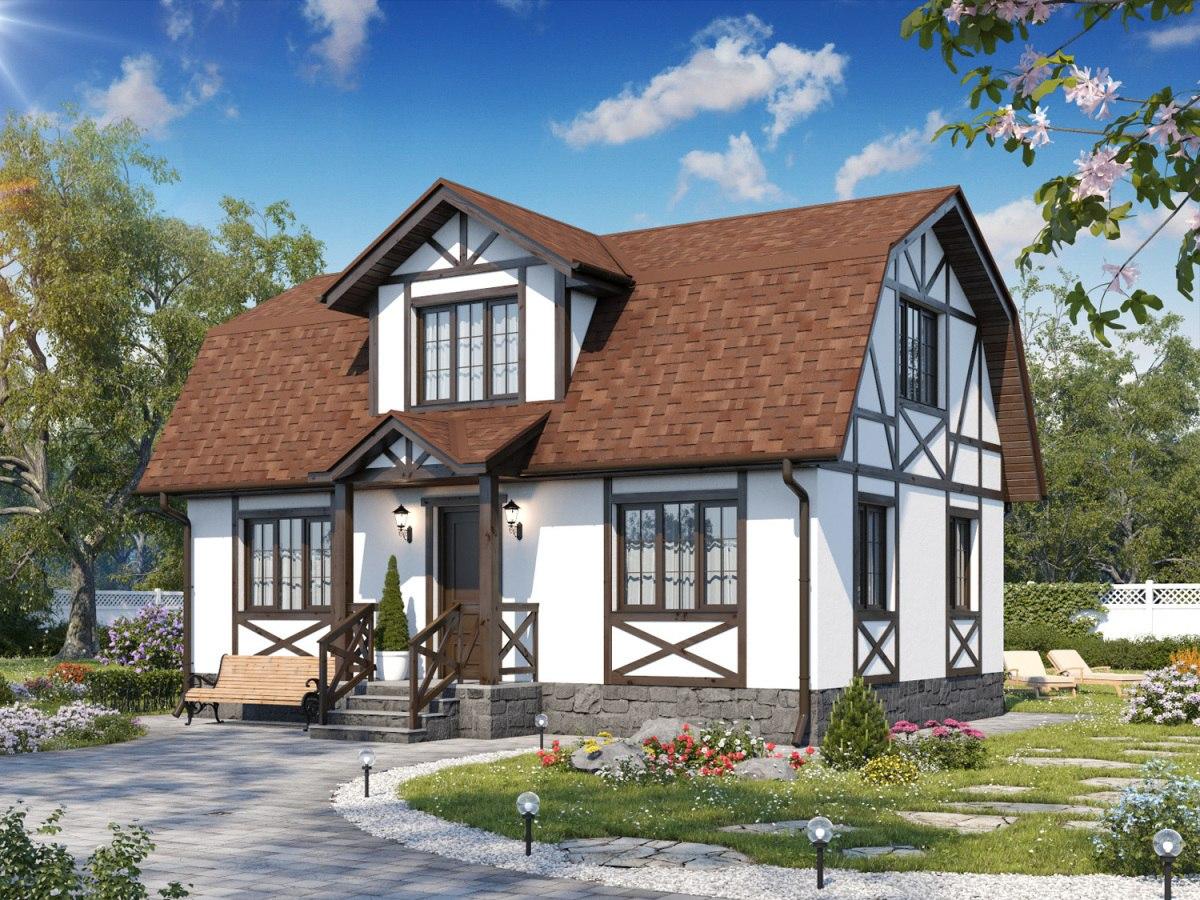 небольшие европейские дома фото обслуживание можно