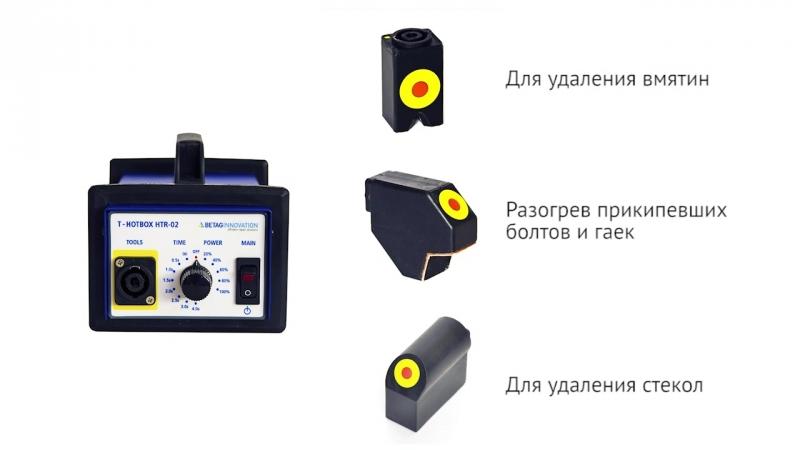Индуктор T-HotBox HTR-02 - удаление вмятин без покраски (PDR)