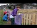 Строительство детской площадки в п Кыддзявидзь