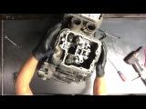 14 Suzuki Intruder VL 1500 Engine Motor Tear Down Case Split VL1500 Disassemble Rebuild V Twin