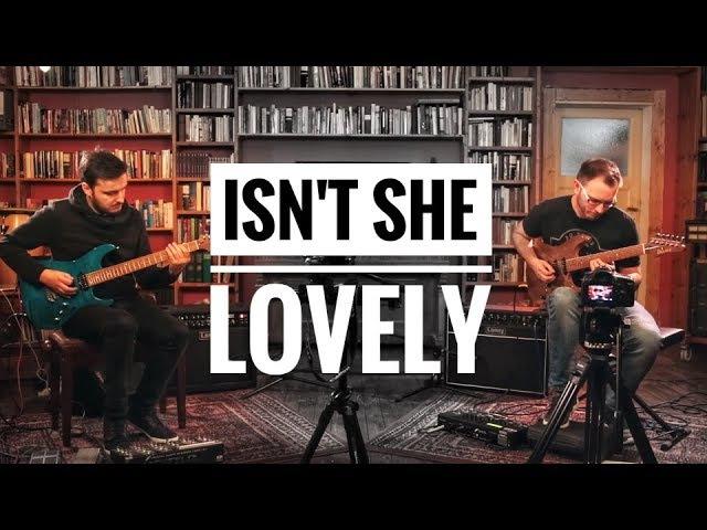 Martin Miller Tom Quayle - Isnt She Lovely (Stevie Wonder) - Live in Studio