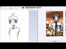 Watch me draw hajime with orange juice to sad music (an emotional journey)