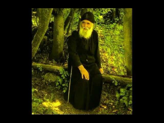 Паисий Святогорец - Неправедный человек испытывает страдания