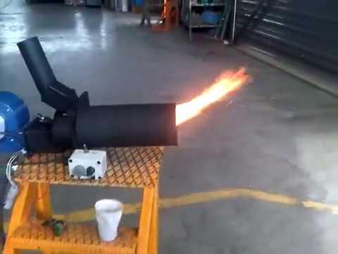 Homemade Pellet burner!
