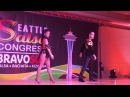 JOHNNY VAZQUEZ EMY CODEBO SALSA SHOW DEBUT @ SEATTLE SALSA CONGRESS 2017