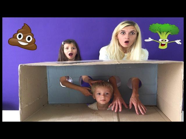 Угадай Что В Коробке| Real Food VS Gummy - What's Inside The Box Feel Challenge