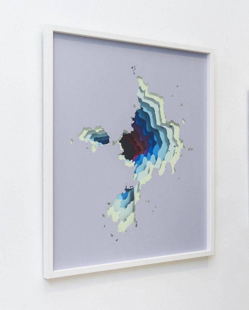 Hidden Portals of Color Paintings