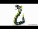 Custom Lego Ninjago GREAT DEVOURER SNAKE MOC Speed Build