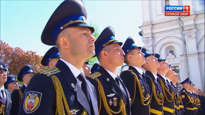 4th inauguration of V. Putin 7/5/2018 Part IV Review of the troops of the Kremlin Regiment
