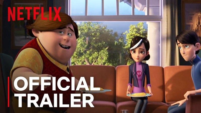 Trollhunters Part 3 | Official Trailer [HD] | Netflix/Трейлер третьего сезона мультсериала Охотники на троллей