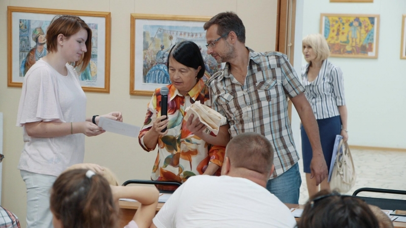 Праздник награждения победителей и призеров Московского конкурса детского рисунка имени Нади Рушевой 2018 года